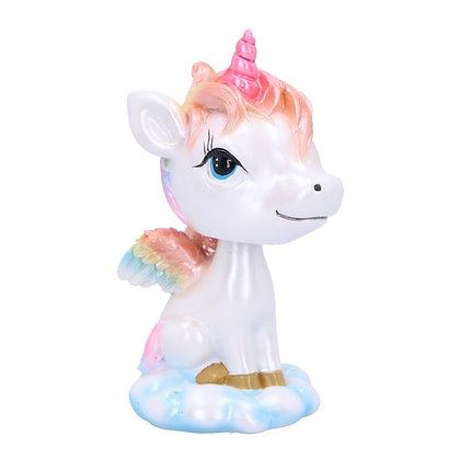Bobble Horn Unicorn Ornament 11cm