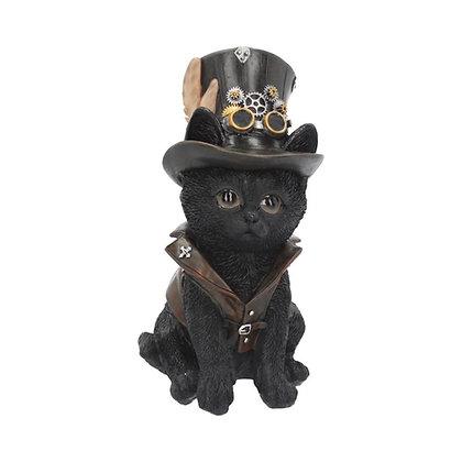 Cogsmiths Steampunk Cat Ornament - 18.5cm