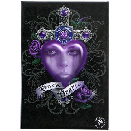 Dark Hearts Fridge Magnet - Anne Stokes