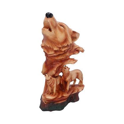 Natural Symphony Wolf Ornament - 31cm