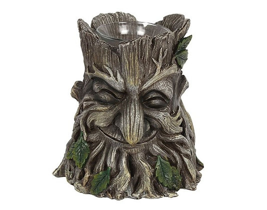 Green Man Candle Holder Ornament