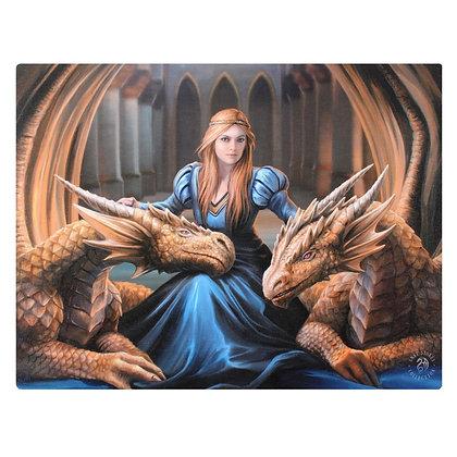 Fierce Loyalty - Anne Stokes Canvas