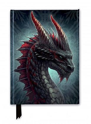 Fierce Dragon Embossed Journal