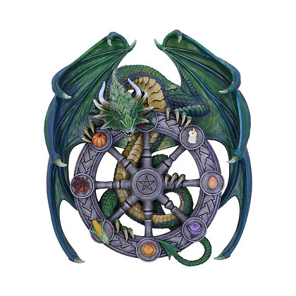 Year of The Magical Dragon Wall Plaque - 30cm (Anne Stokes)