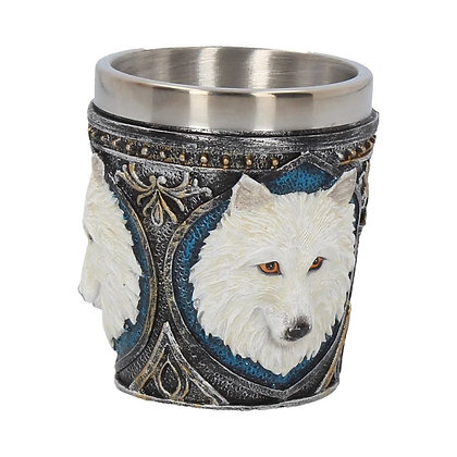 Ghost Wolf Shot Glass 6.5cm