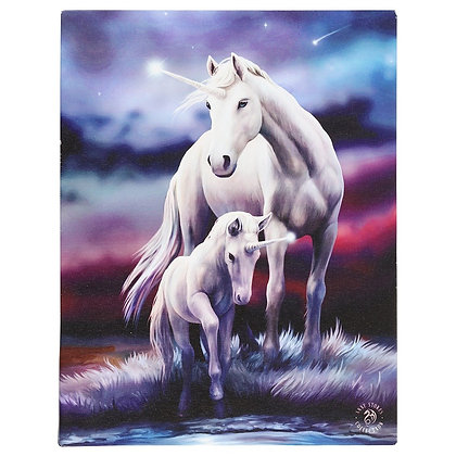 Eternal Bond Unicorn - Anne Stokes Canvas