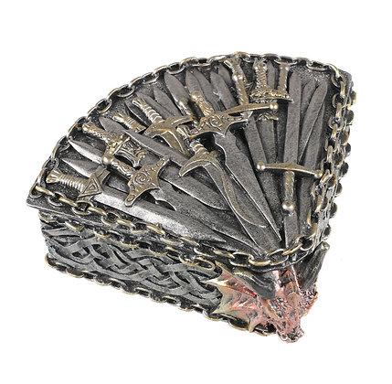 Dragon Kingdom Trinket Box Ornament 17cm