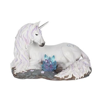 Jewelled Tranquillity Unicorn Ornament - 19cm