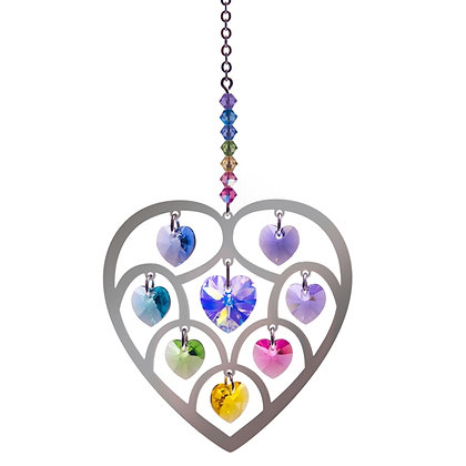 Pure Radiance Large Heart of Hearts Crystal Fantasy