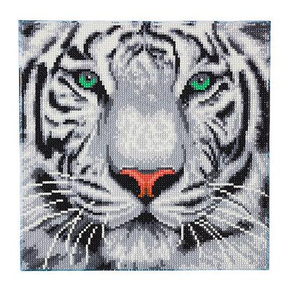 White Tiger Crystal Art Kit