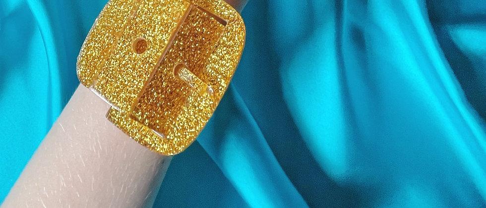 Marion Godart golden bracelet