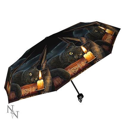 Witching Hour Cat Umbrella (Lisa Parker)