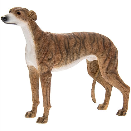 Leonardo Brindle Greyhound Dog Ornament