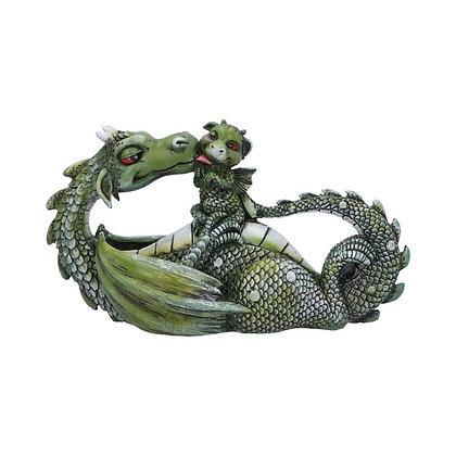 Sweetest Moment Green Dragon Ornament 20.2cm