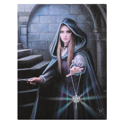 Light in The Darkness - Anne Stokes Canvas