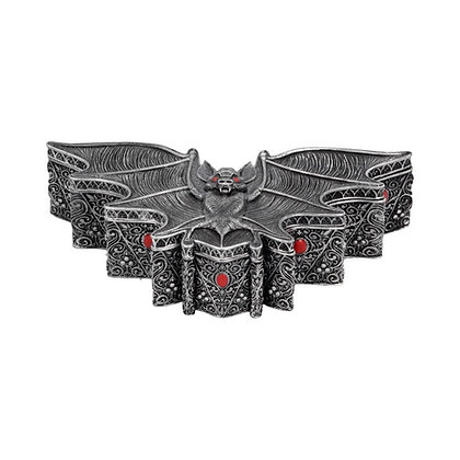 Carpe Noctem Dracula Vampire Bat Trinket Box - 17cm