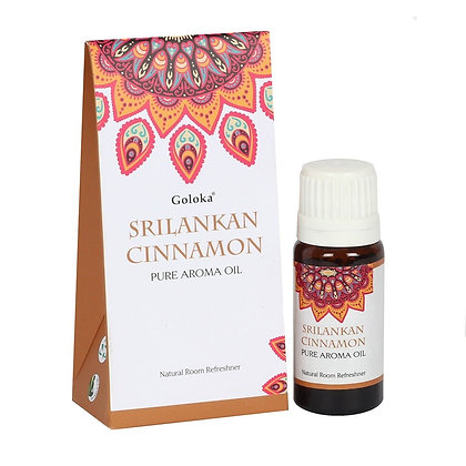 Goloka 10ml Sri Lankan Cinnamon Fragrance Oil