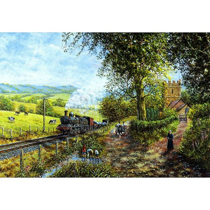 Morning Service 1000 Piece Jigsaw Puzzle
