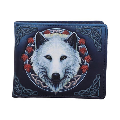 Guardian of The Fall Wolf Wallet (Lisa Parker)