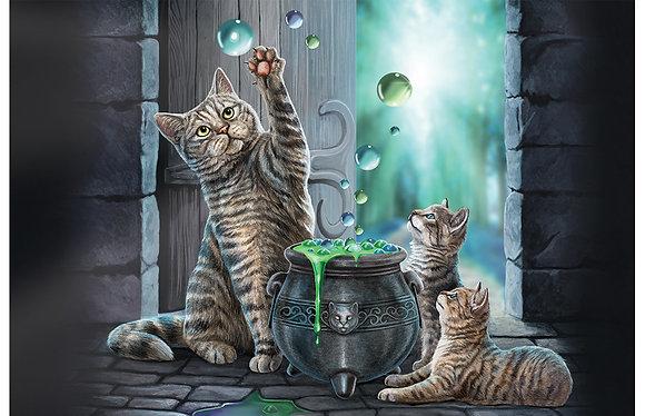 Hubble Bubble Cat and Kitten 3D Jigsaw Puzzle 150Pcs - Lisa Parker