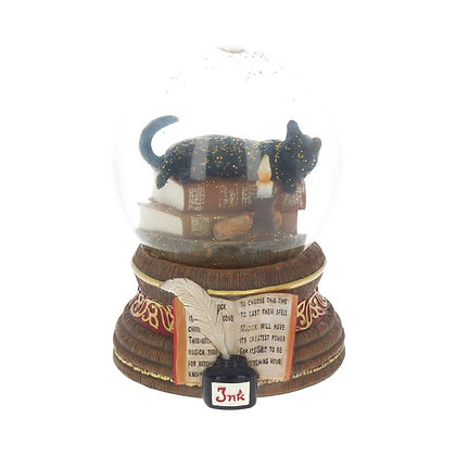 Witching Hour Snowglobe Ornament -11cm - Lisa Parker