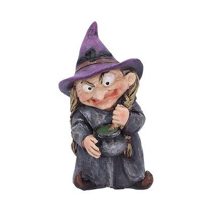 Double Double Witch Ornament - 9.7cm