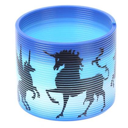 Enchanted Unicorn Rainbow Spring Toy (Slinky)
