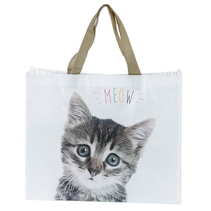 MEOW Cat Shopping Bag