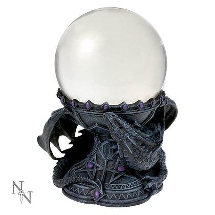Dragon Beauty Crystal Ball Holder - Anne Stokes - 18cm