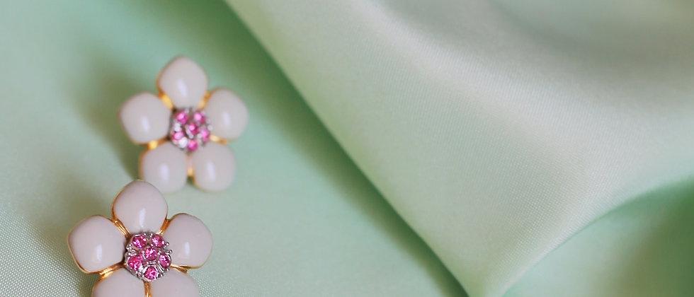 Sweet flowers earrings