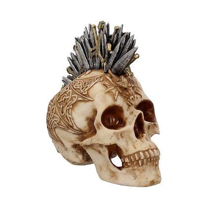 Large Sword Hawk Skull Ornament 23.5cm