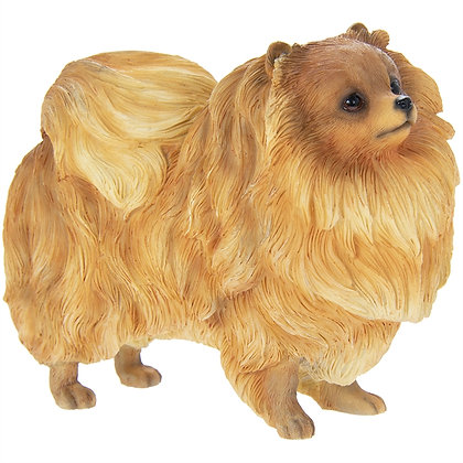 Leonardo Pomeranian Dog Ornament