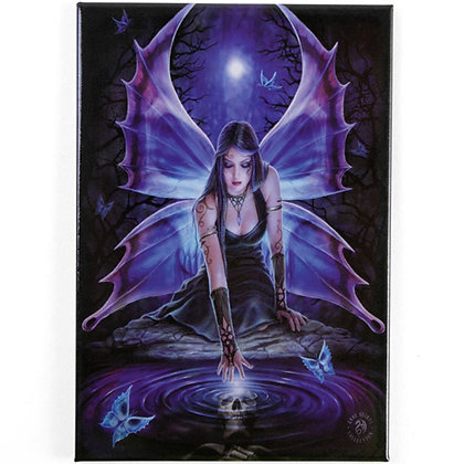Immortal Flight Gothic Fairy Fridge Magnet - Anne Stokes