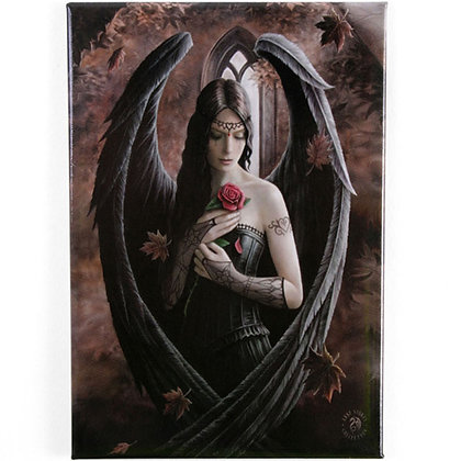Angel Rose Gothic Fridge Magnet - Anne Stokes