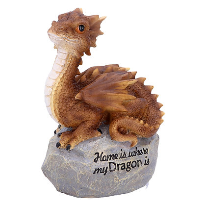 Home is Where My Dragon Is Ornament 19.5cm
