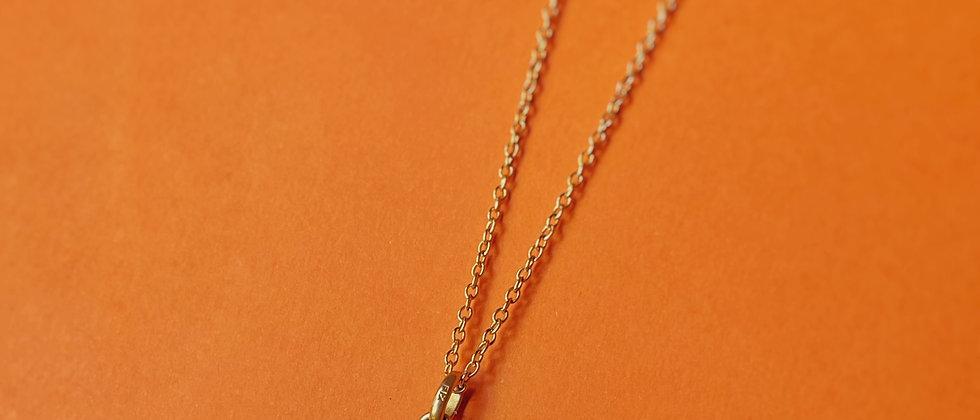 Antique golden locket pendant