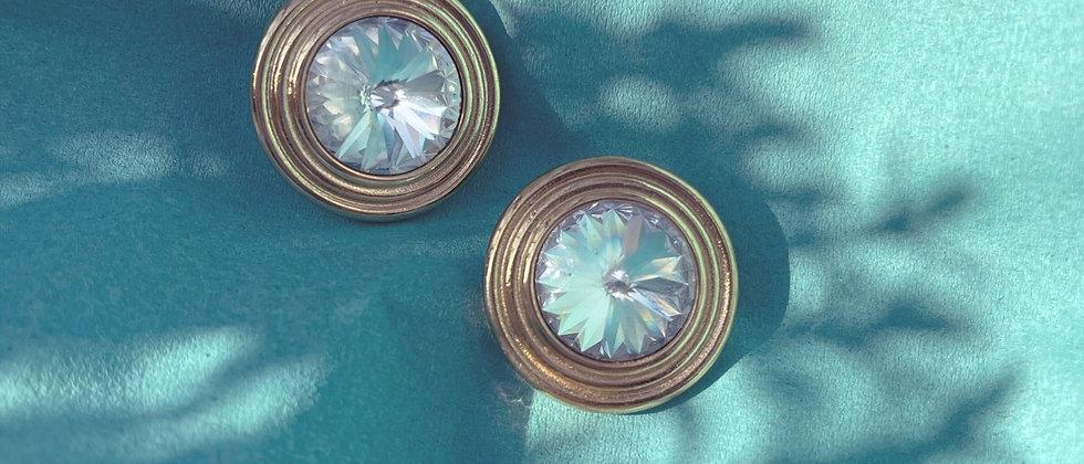 Round shiny clips