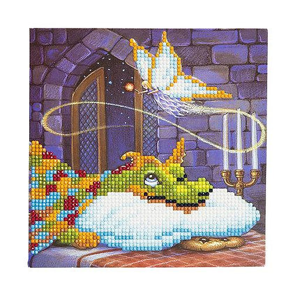 Dragon and The Cookie Fairy Crystal Art Card Kit