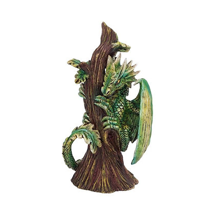 Age of Dragons Small Forest Dragon Figurine 13.2cm - Anne Stokes