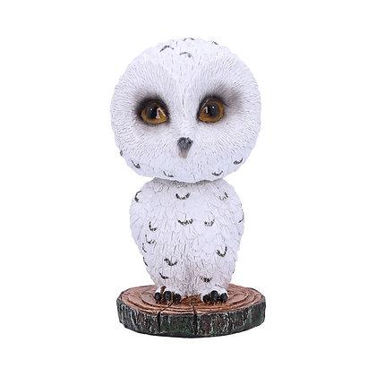 Bobble Beak Owl Ornament 10.5cm
