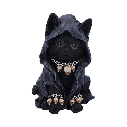Reapers Feline Cloaked Cat Ornament - 16cm