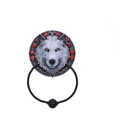 Guardian of The Fall Wolf Door Knocker - 18cm - Lisa Parker