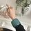 Thumbnail: Lucite turquoise bracelet