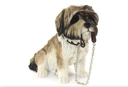 Leonardo Walkies Shih Tzu Dog Ornament