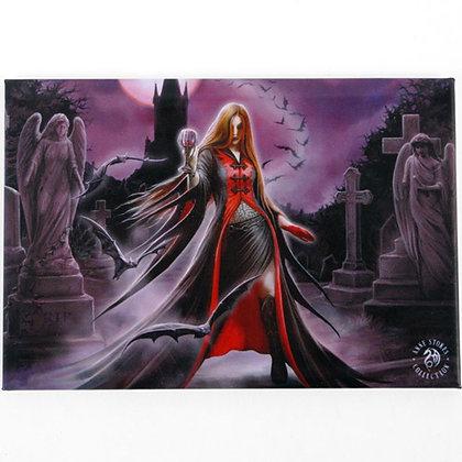Blood Moon Gothic Fridge Magnet - Anne Stokes