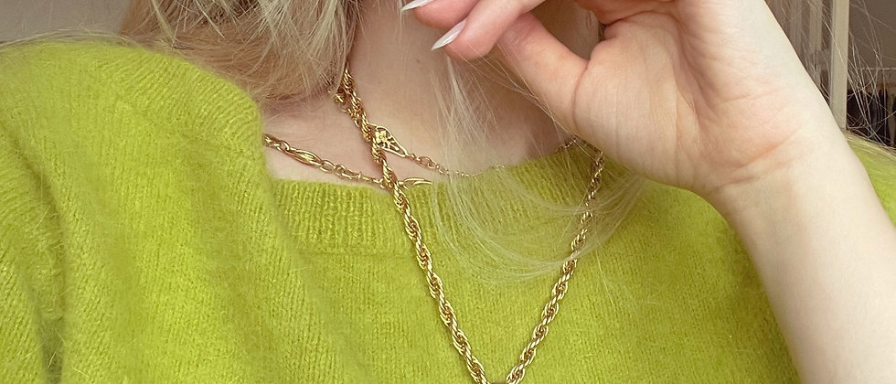 Spinning Fob necklace