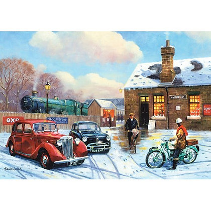 The Arrival 1000 Piece Jigsaw Puzzle