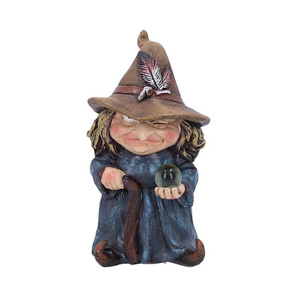 Trouble Witch Ornament - 9.7cm