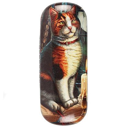 Adventure Awaits Cat Glasses Case - Lisa Parker