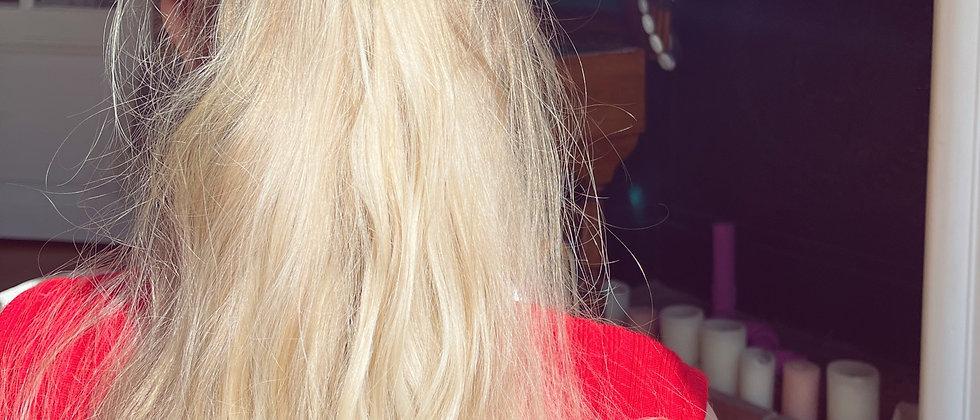 Big heart hair clip